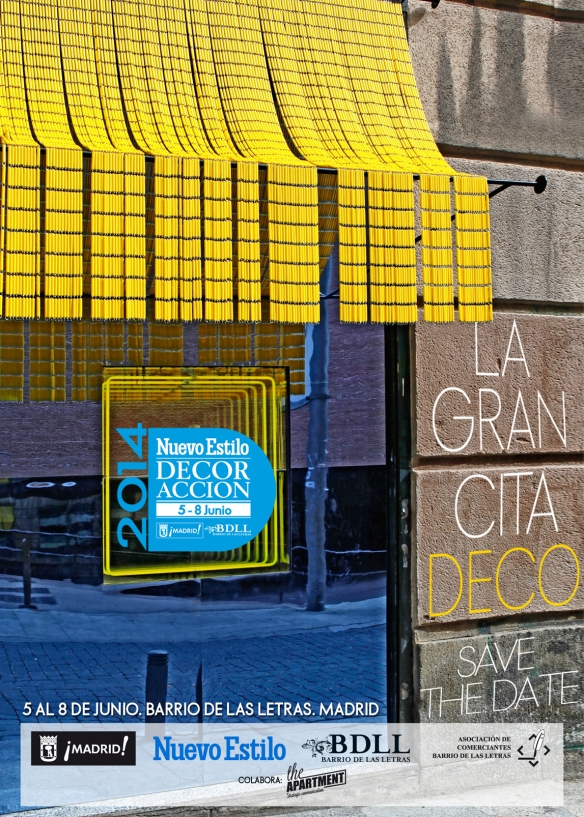 SAVE THE DATE DECORACCION