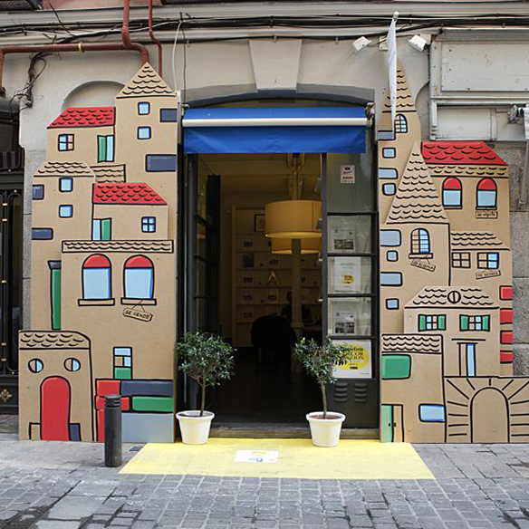 Casas Cartón